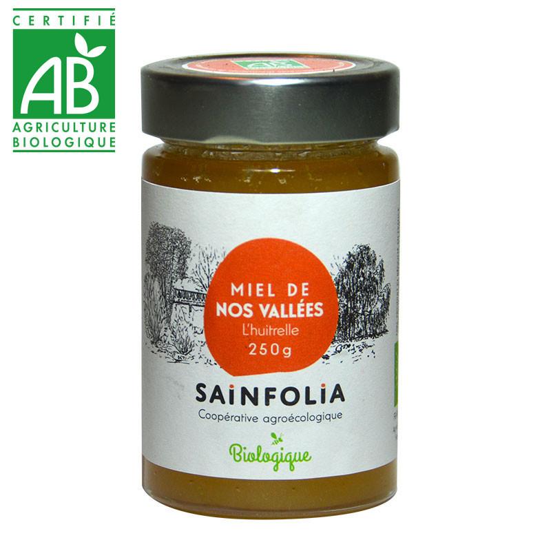 Miel de nos vallées biologique produit en France
